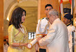 Rajanikanth and Rajmouli Hounered with Padma Awards