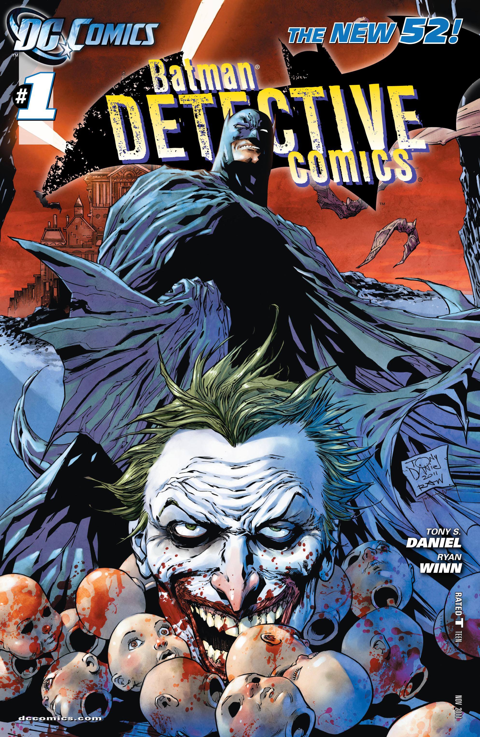 Detective Comics (2011) 1 Page 1