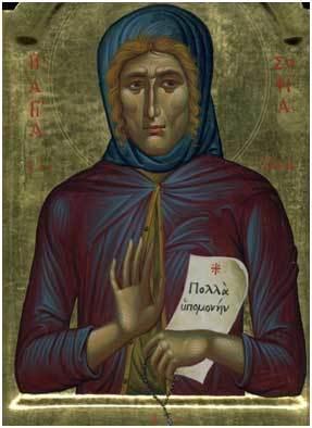Ιερά Μονή Οδηγήτριας: Οσία Σοφία η εν Κλεισούρα ασκήσασα (6 Μαΐου ...