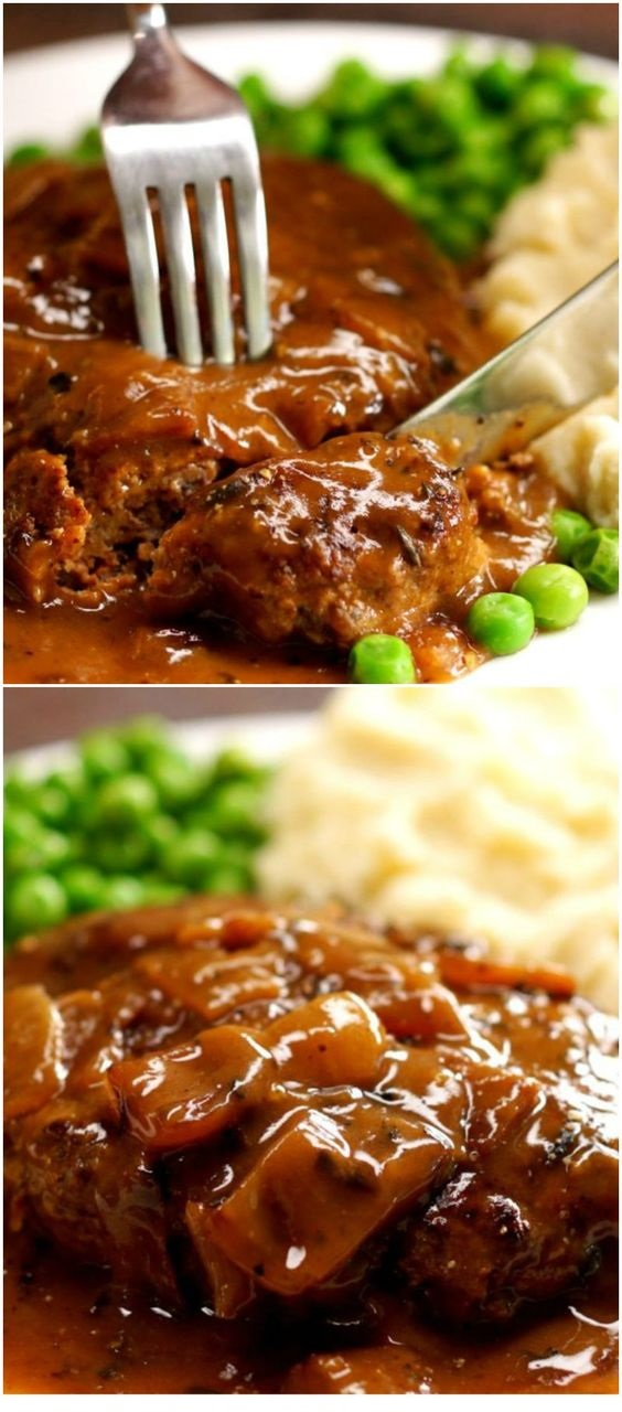 Amazing Salisbury Steak Recipe