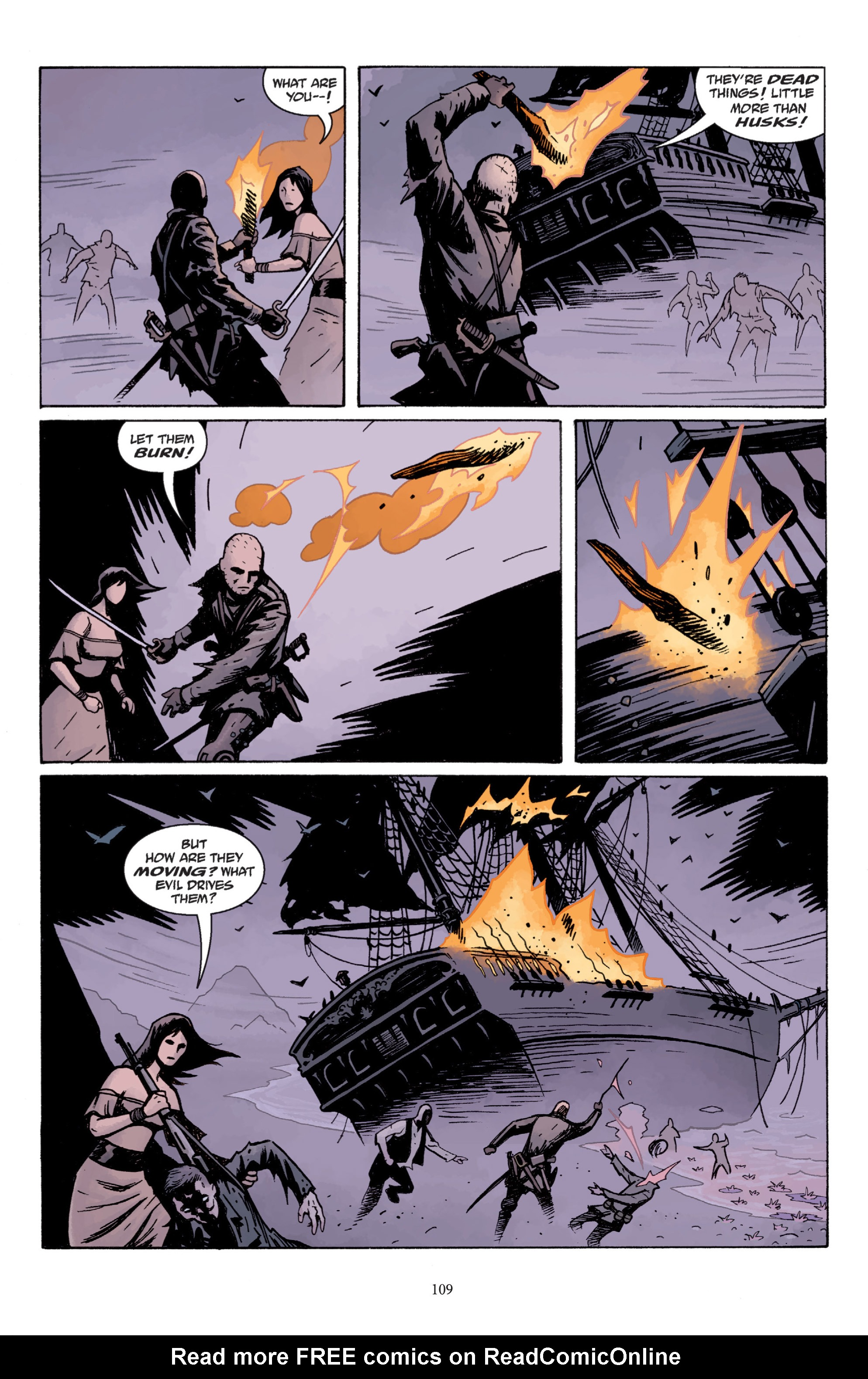 Read online Baltimore: The Plague Ships comic -  Issue # TPB - 109