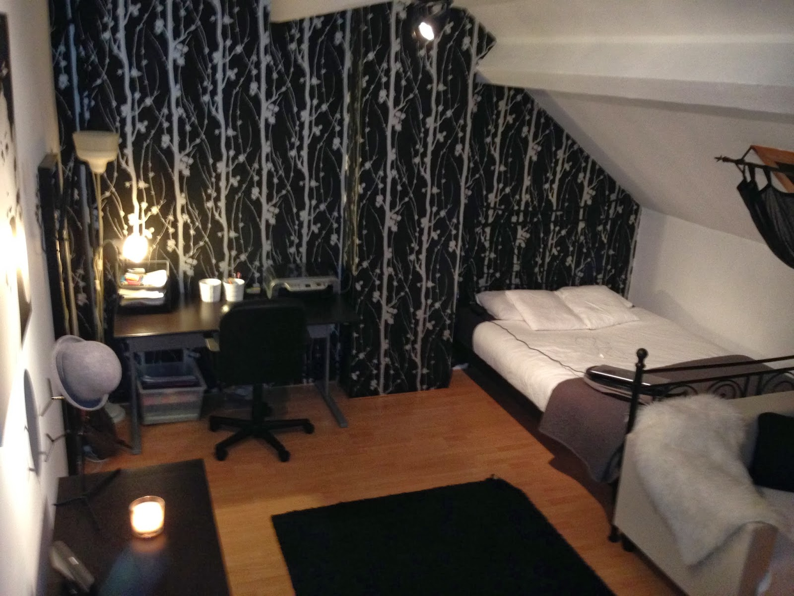 Peau De Mouton Grise Ikea vivahdream: room tour : ikea room !!!