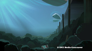 A Selection Of Backgrounds Coloured In Flash For Packages From Planet X And Transformers  Rescue Bots.