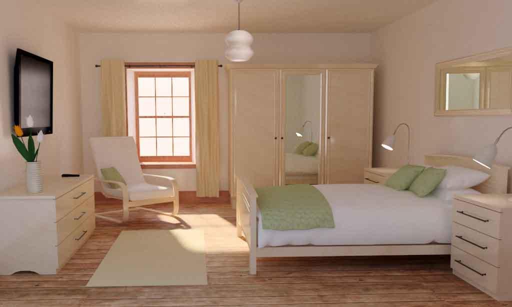 konsep kamar tidur minimalis sederhana referensi rumah
