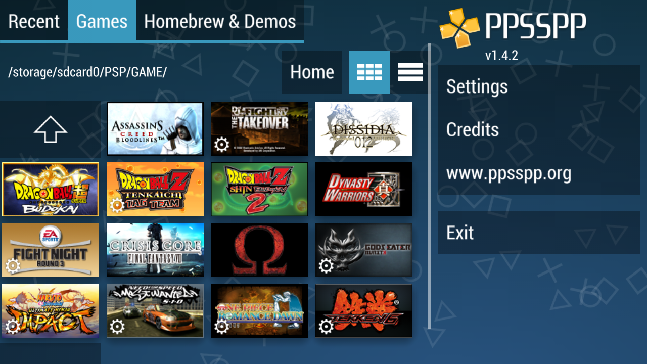 Ppsspp Gold Version 1 4 2 Apk Download Psp Iso Ppsspp