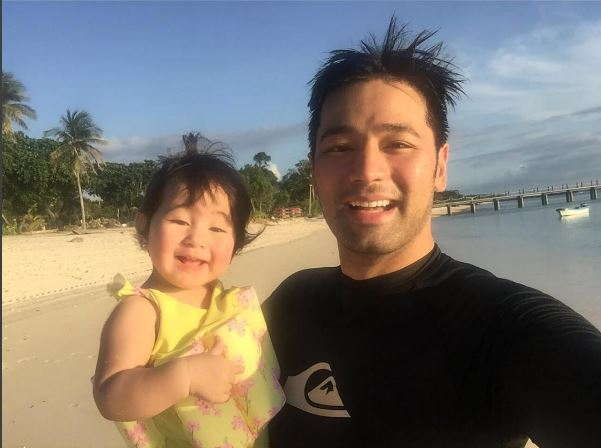 Hayden Kho with Scarlet Snow.