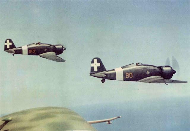 Fiat G.50 Freccia Arrow Italian fighters Color photos World War II worldwartwo.filminspector.com