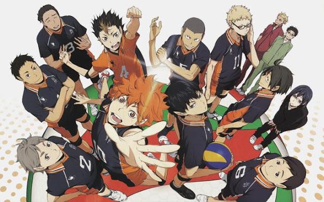 27 Anime Sport Terbaik Yang Seru Dan Wajib Untuk Ditonton!