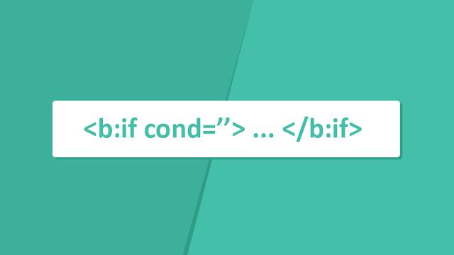 Cara Memunculkan Widget Pada Halaman Tertentu dengan Tag Conditional  Pada Blogger