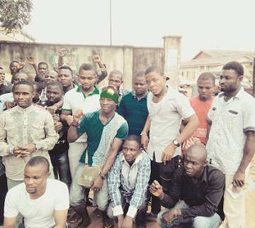 Photos Of BIAFRA Detainees FREED