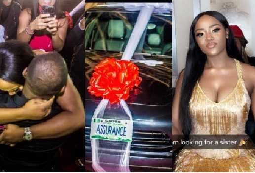 Davido Reveals Why His Girlfriend Chioma Has Never Been Spotted Driving Her Porsche