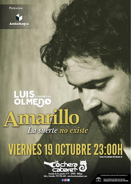 Luis Olmedo en Málaga