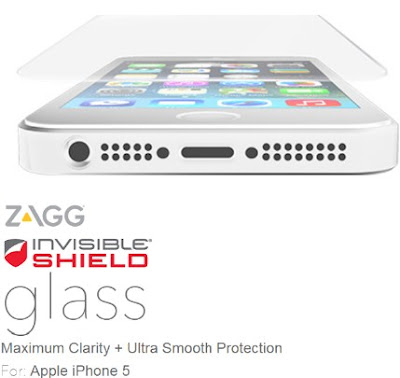 tempered glass ZAGG InvisibleSHIELD