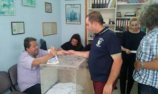 Πρώτος σε ψήφους ο κ. Χρήστος Πλιάγκος του Κυνηγετικού Συλλόγου Ζαχάρως