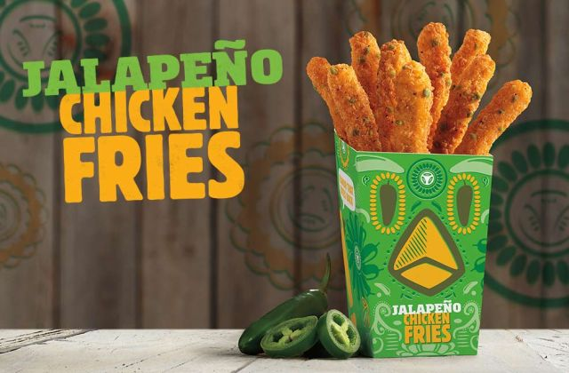 Jalapeno Chicken Fries Are Back At Burger King