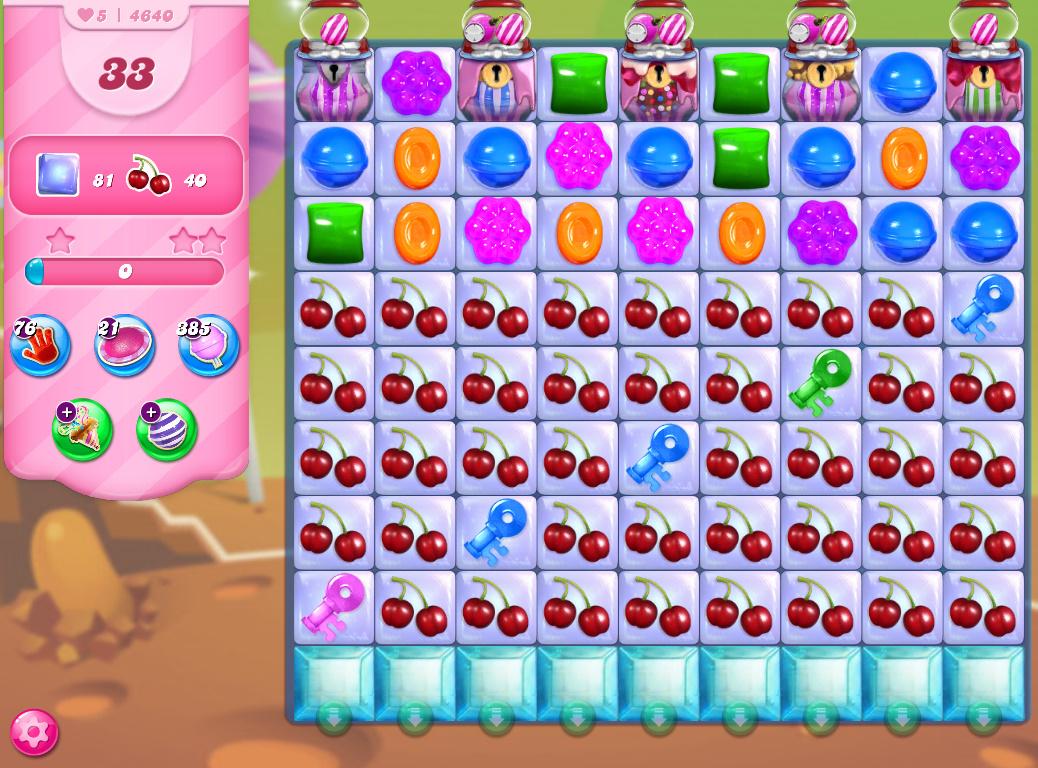 Candy Crush Saga level 4640