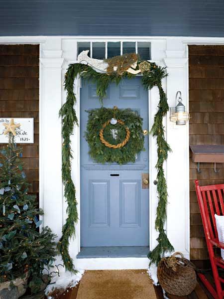 By The Sea Coastal Holiday Wreath Ideas