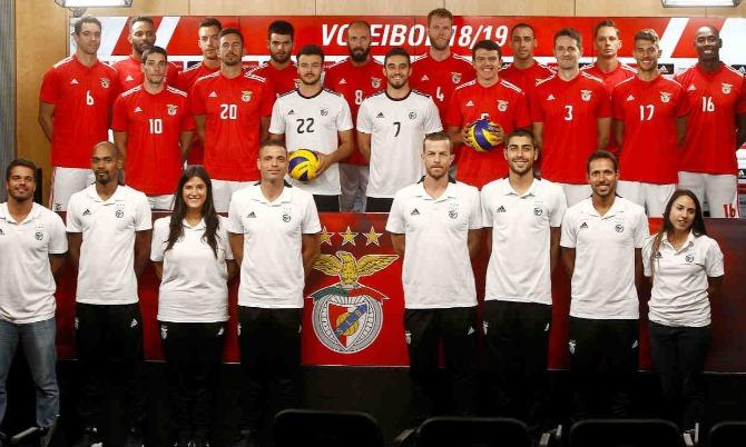 Benfica Voleibol Plantel