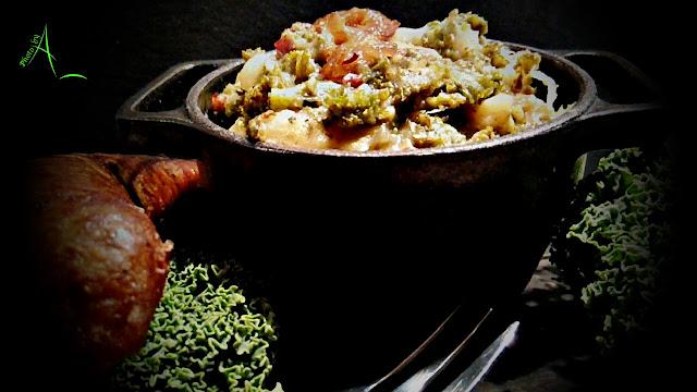 La cuisine de christine la pot e au chou fris du mardi gras for La cuisine de christine