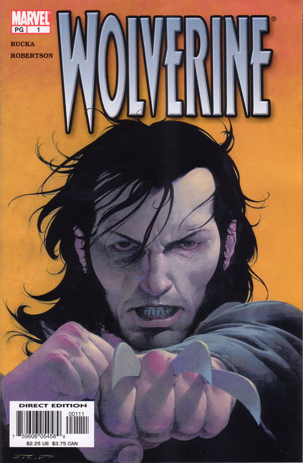 Read online Wolverine (2003) comic -  Issue #1 - 1