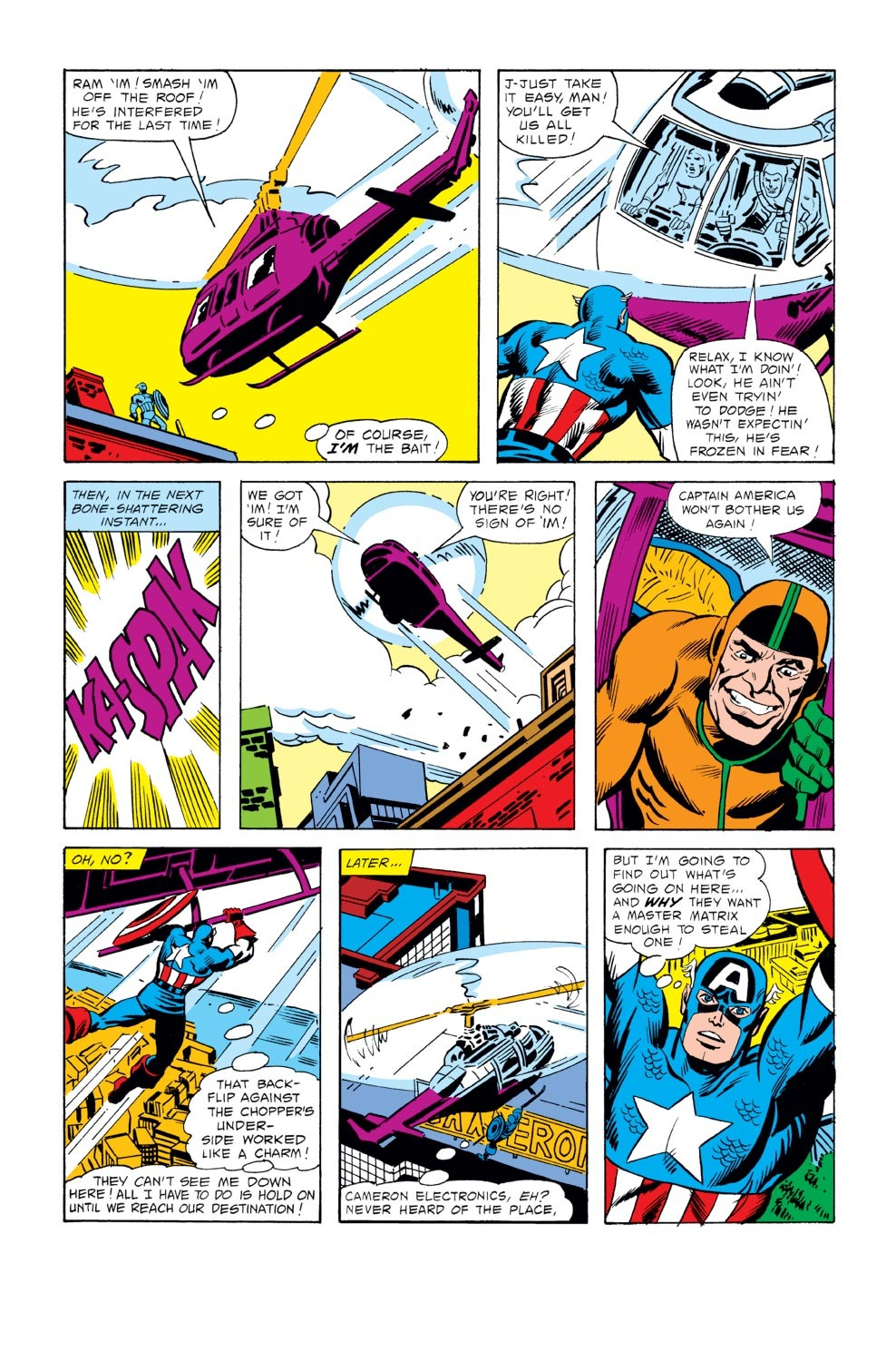 Captain America (1968) Issue #243 #158 - English 9