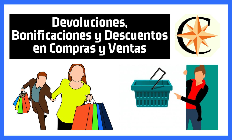 Devoluciones, Bonificaciones y Descuentos en Compras y Ventas