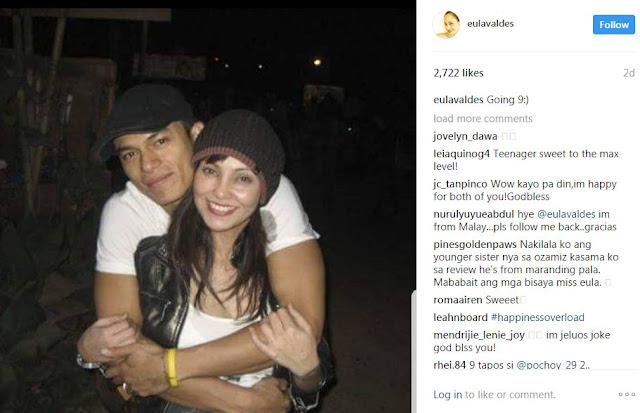 Eula Valdes Declared 9-Year Relationship With Actor Rocky Salumbides