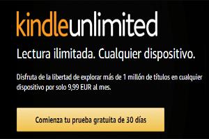 Acceso a Kindle Unlimited, el programa de suscripción de libros electrónicos de Amazon