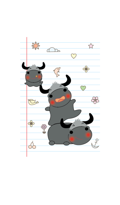 Cute buffalo theme v.1