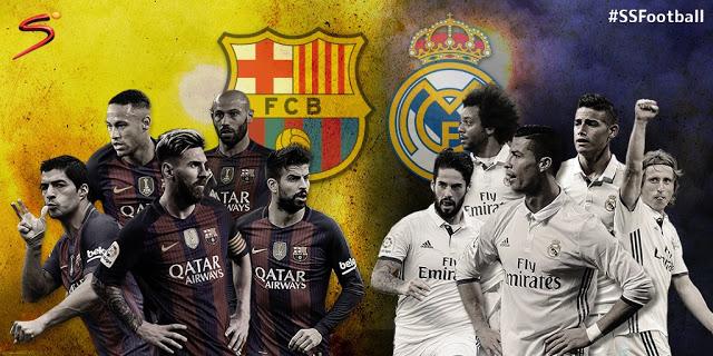 مشاهدة مباراة برشلونة وريال مدريد بث مباشر بتاريخ 03-12-2016 || الكلاسيكو
