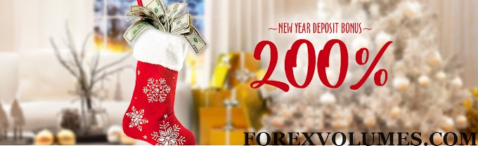 200%  Deposit Bonus from fresh Forex