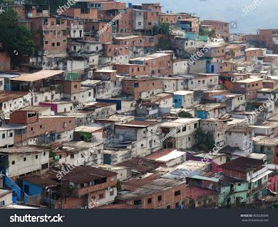 Perkampungan Masyarakat Miskin di Venezuela (www.taxedu.web.id)