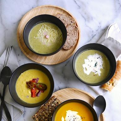 3 Recettes de Soupe au Légumes Pour L'Hiver