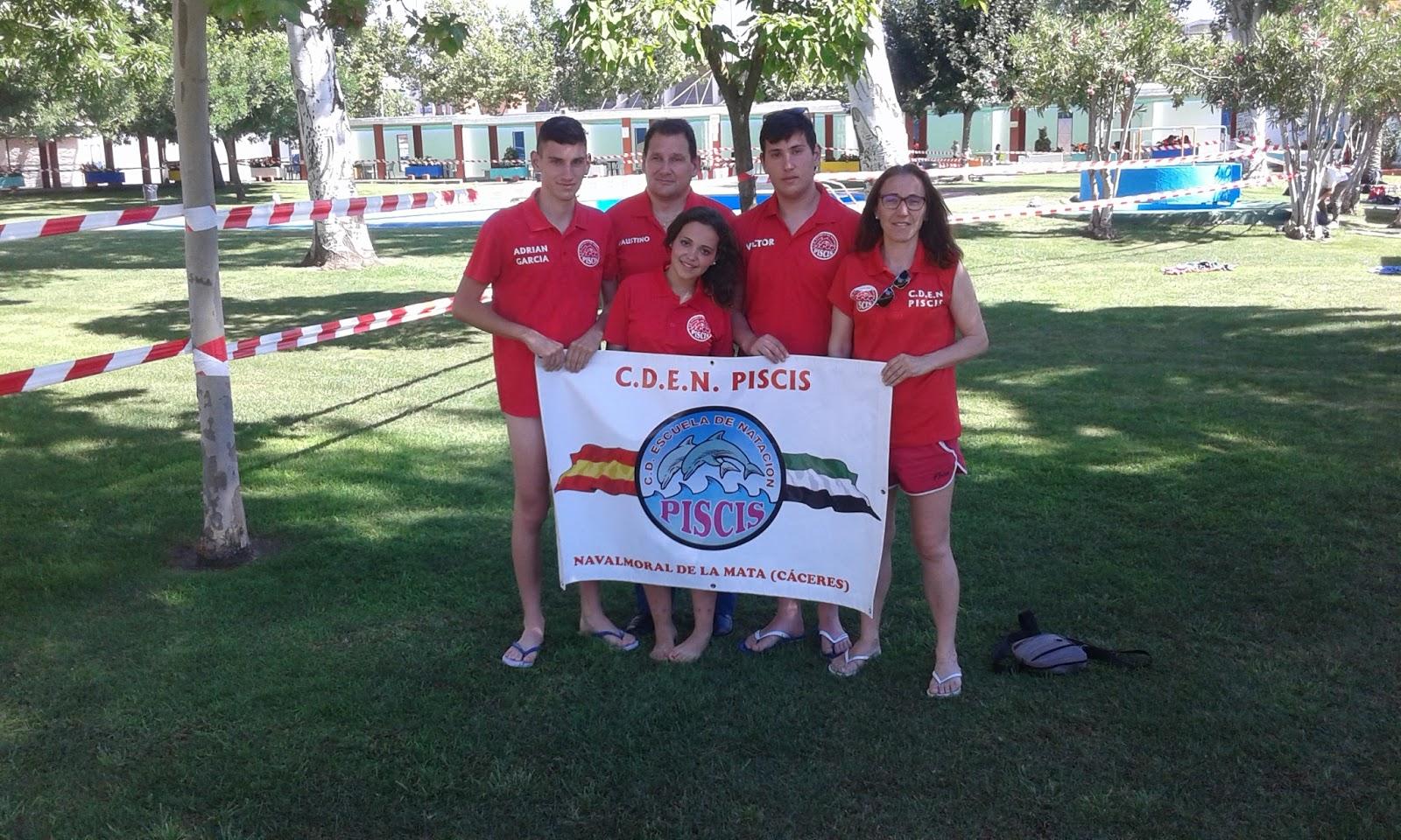 Escuela de natacion piscis ix trofeo don benito cursos for Piscinas naturales navalmoral dela mata