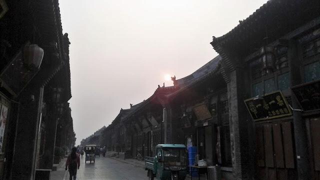 Calles a primera hora de la mañana