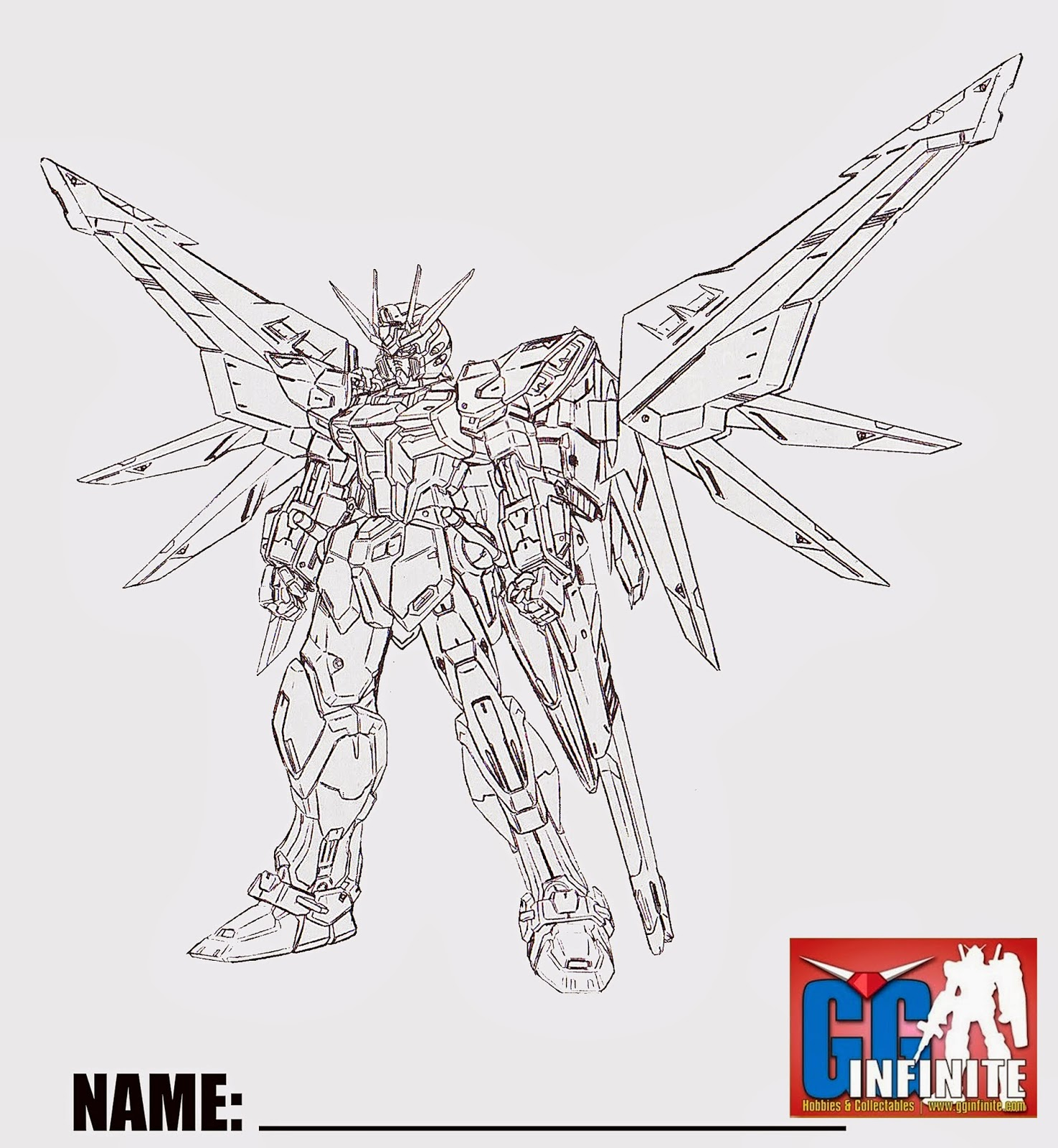 g gundam coloring pages - photo #11