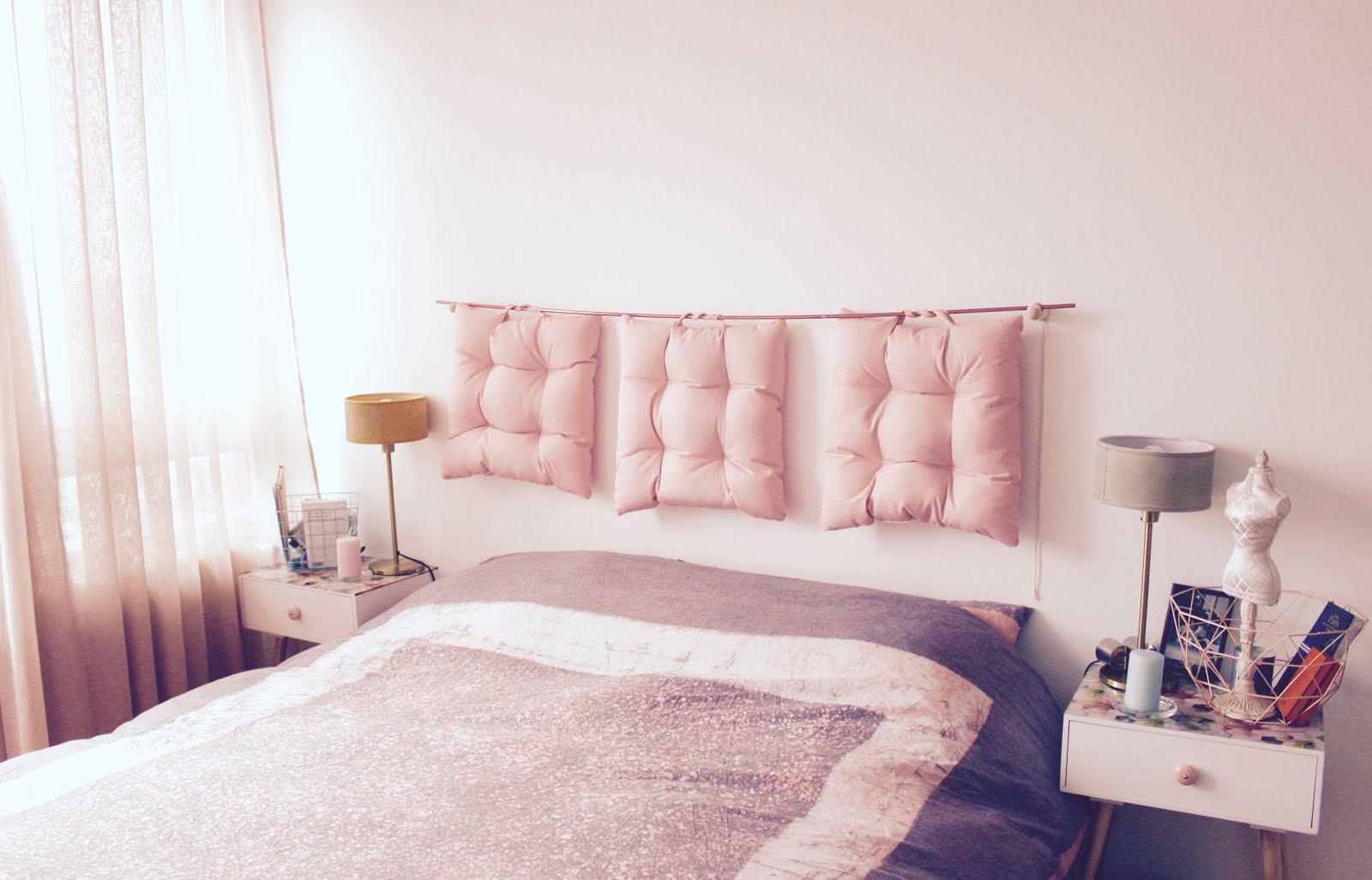 Inspiration déco — Une chambre Rose Quartz - trop chic, pas cher