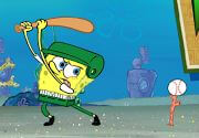 سبونج بوب يلعب البيسبول