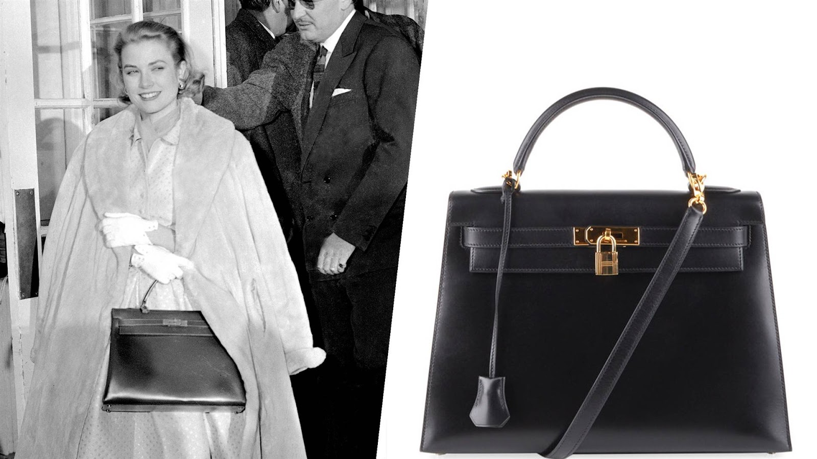 Another iconic bag named after a celebrity is the Hermes Kelly bag. Grace  Kelly have fallen in love after she used Hermes bags in her movie  To Catch  A ... 34589c622e938