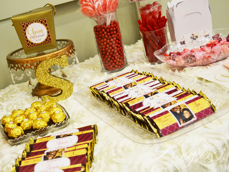Eccentric Designs By Latisha Horton Candy Buffet Table