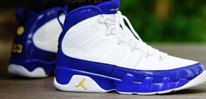 66b360f18529 cheap jordans  cheap jordans for sale -Lakers color Air Jordan 9 ...