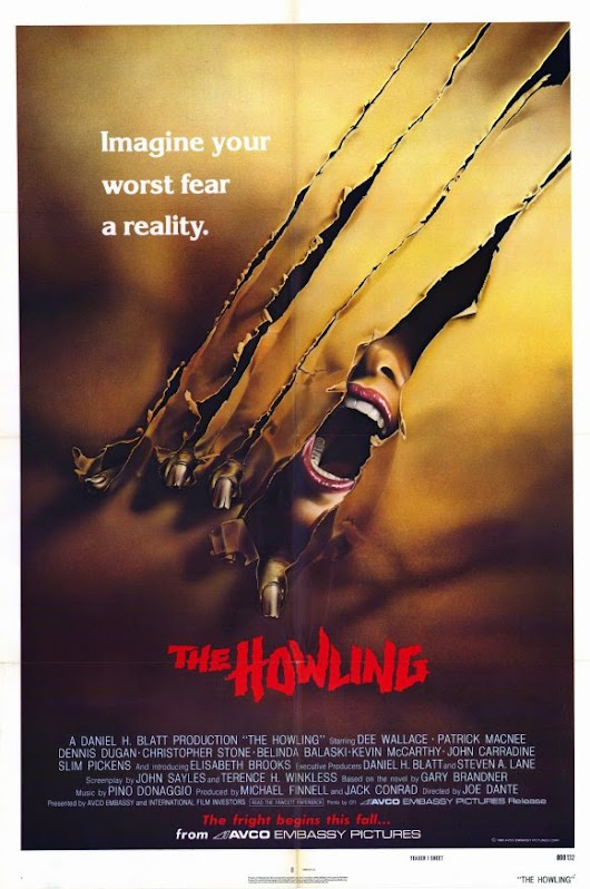 Reviews Of Unusual Size!: Halloween Film Review - The Howling