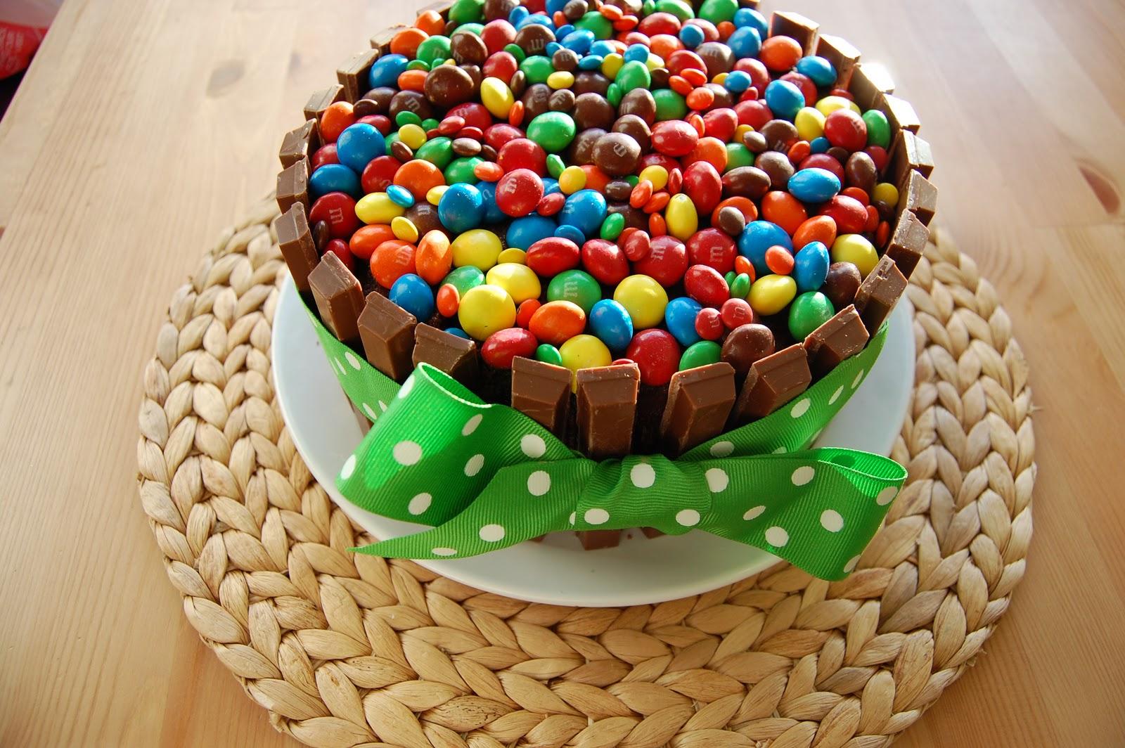 Vegetarian Faerie In The Kitchen Kit Kat Colourful Birthday Cake