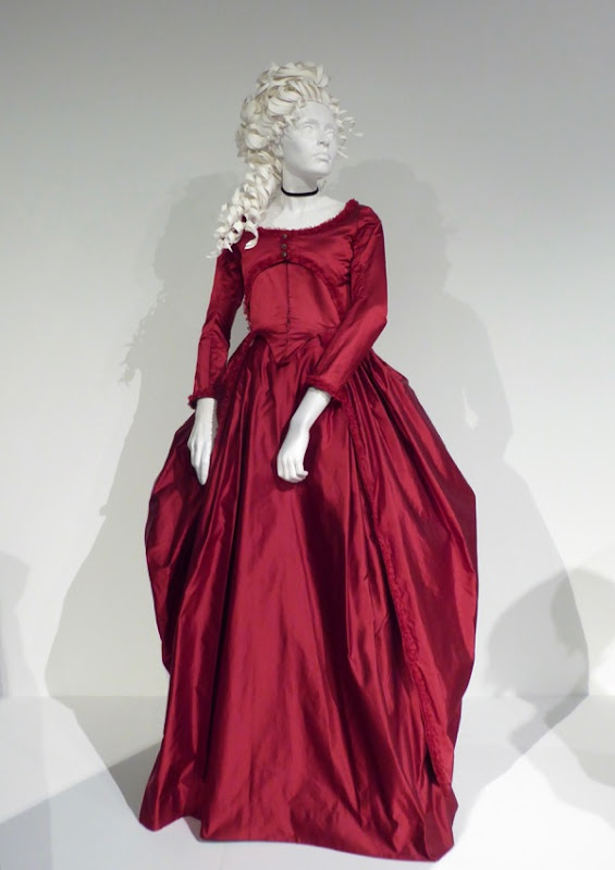 Love & Friendship Lady Susan Vernon red gown