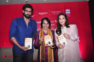 Aiswarya Rajinikanth Dhanush Standing on an Apple Box Launch Stills in Hyderabad  0076.jpg