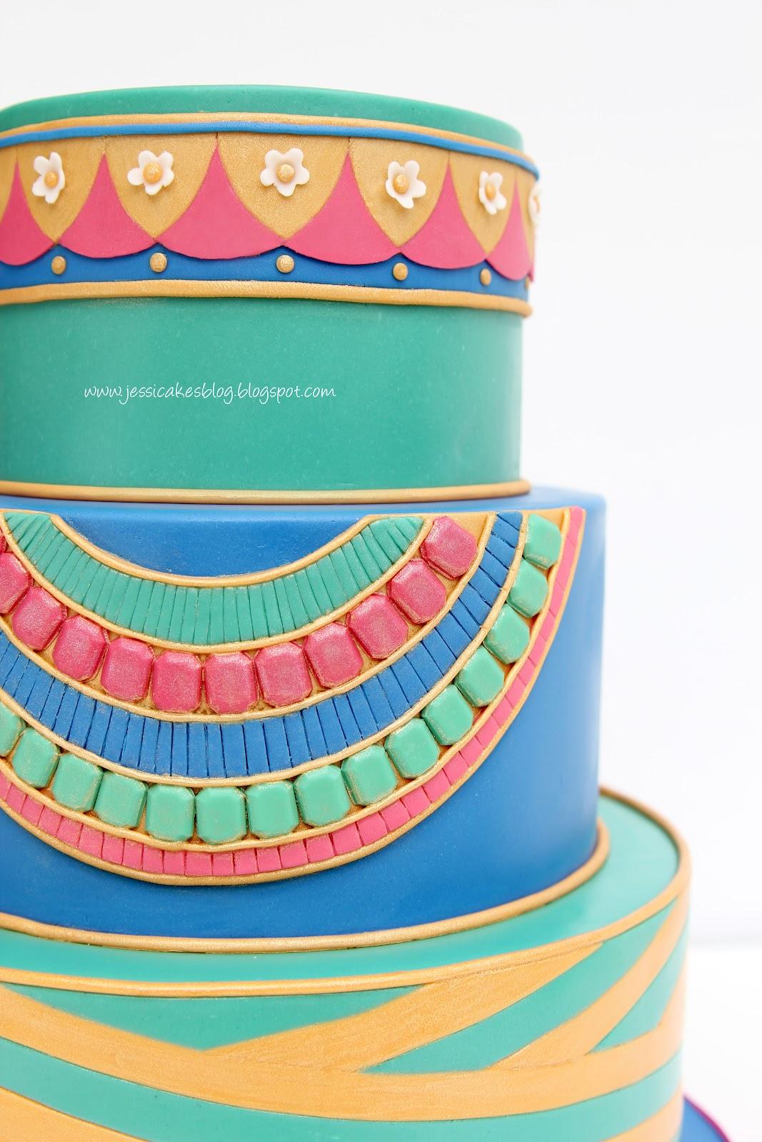 The Egyptian Cake Jessica Harris Cake Design