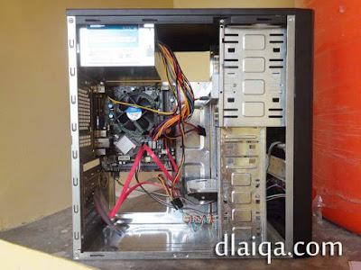 hubungkan antar konektor masing-masing komponen