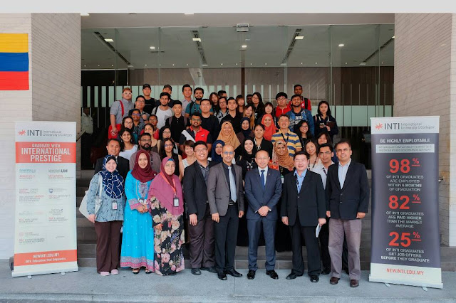 Leadership Talk, Tan Sri Abdul Wahid Omar, INTI International University Kuala Lumpur,