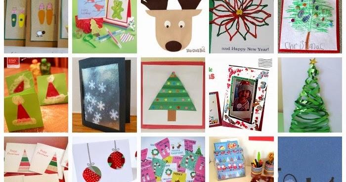 Christmas Card Art Ks2.Learn With Play At Home 25 Christmas Card Ideas Kids Can Make