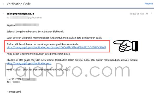 Cara Daftar eBilling sse.pajak.go.id - surat setoran elektronik